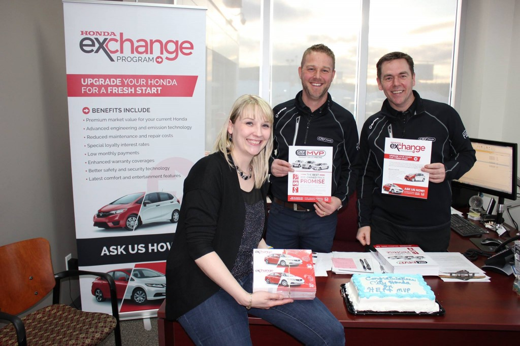 Honda Exchange Program | DcDesignHouse.ca