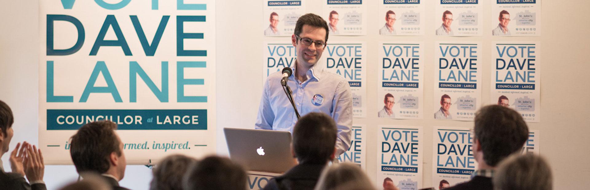 Vote Dave Lane Campaign
