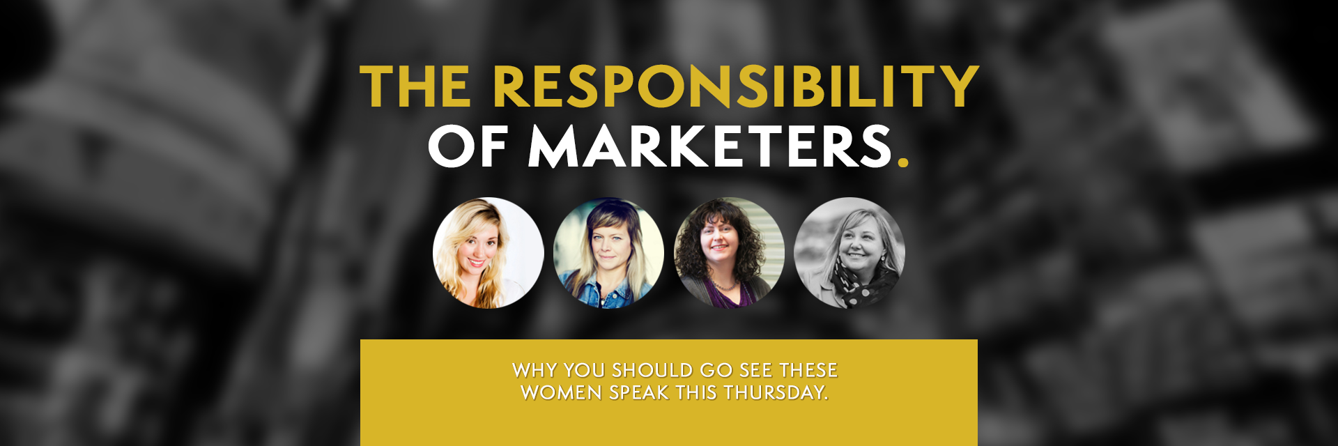 The Responsibility of Marketers