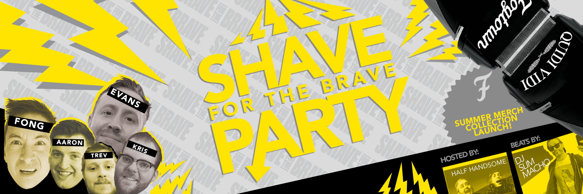 QV x Fogtown: Shave for a Cause