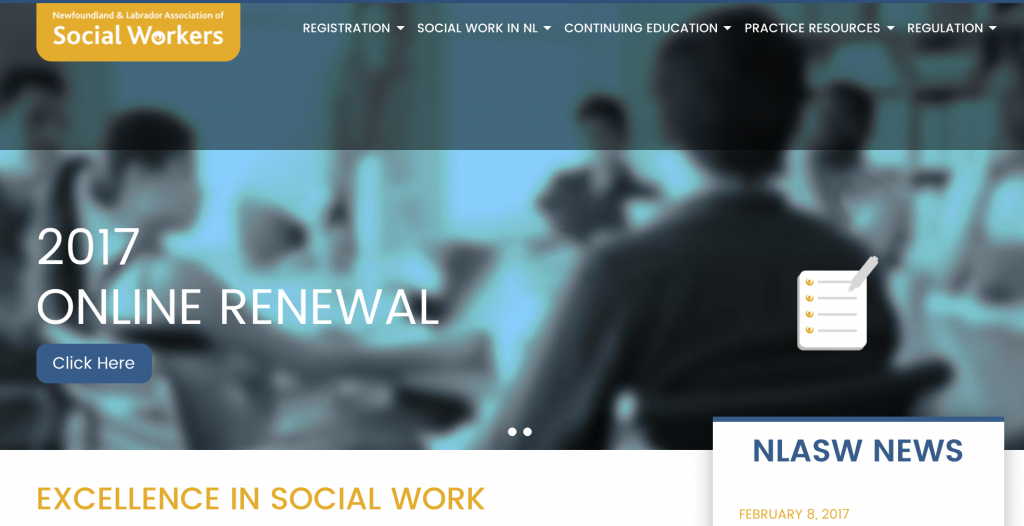 NLASW Website Header