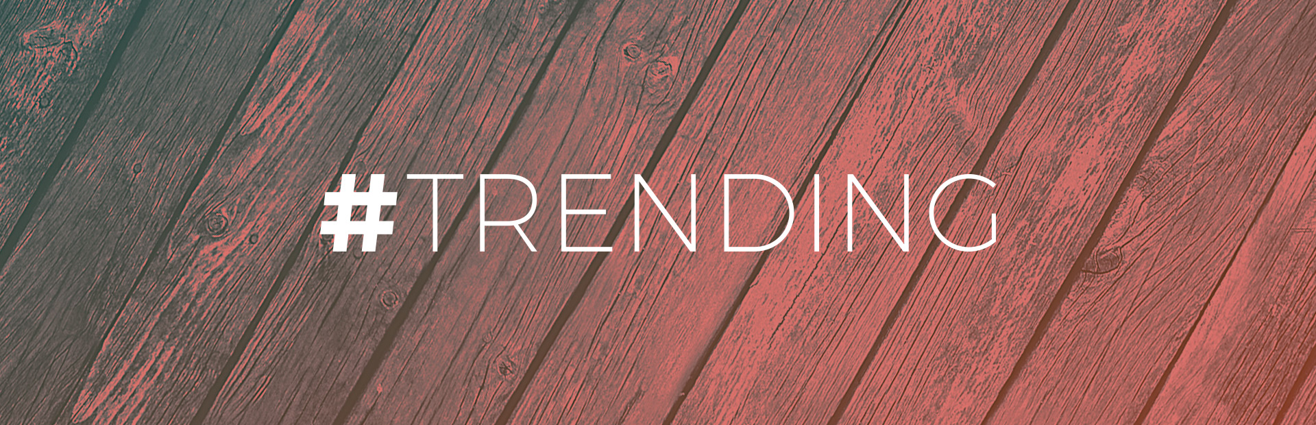 #TRENDING – Fall Edition 2015
