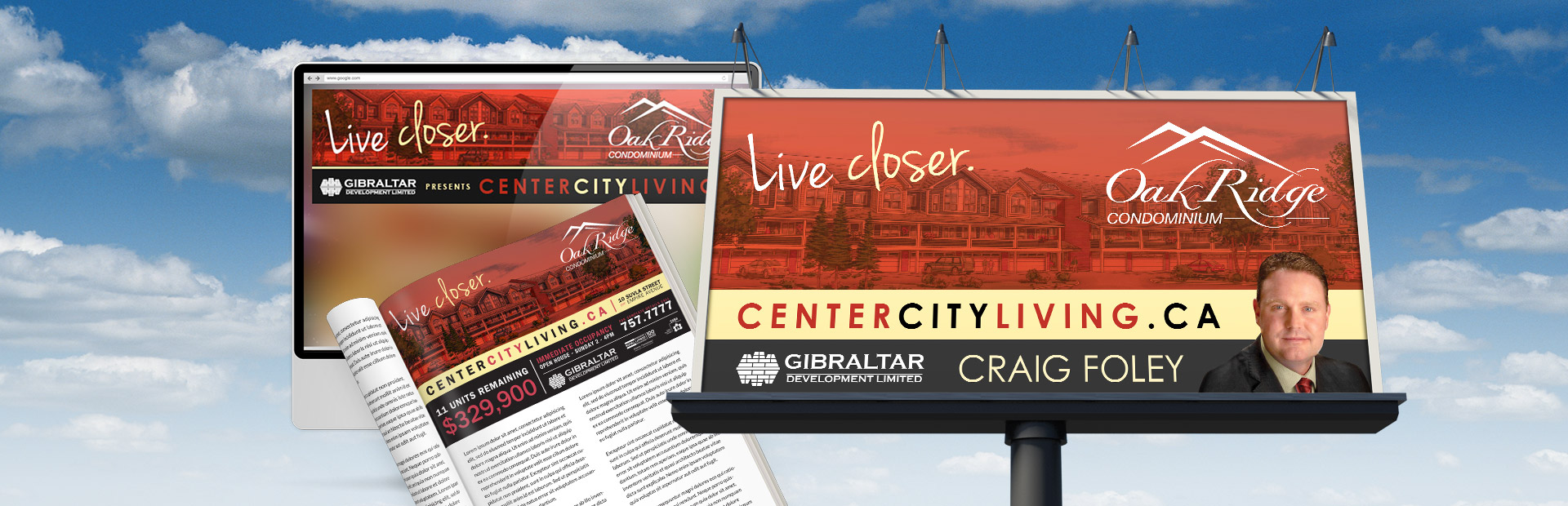 Gibraltar Development's Live Closer Campaign