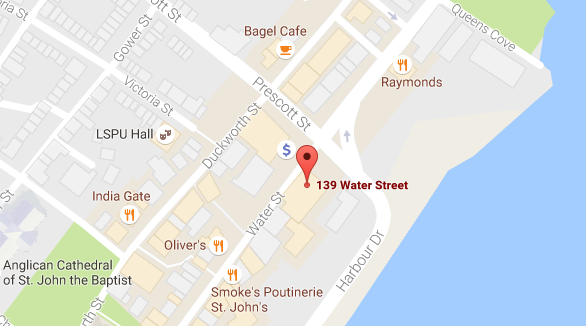 Google Map 139 Water St