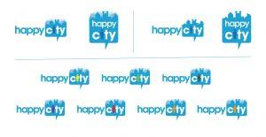 Happy City Logo Varities