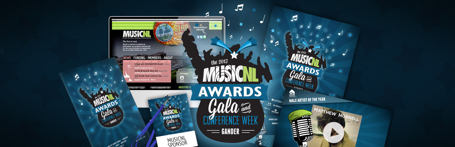 Campaign for MusicNL 2013 Awards