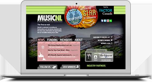 MusicNL | DcDesignHouse.ca