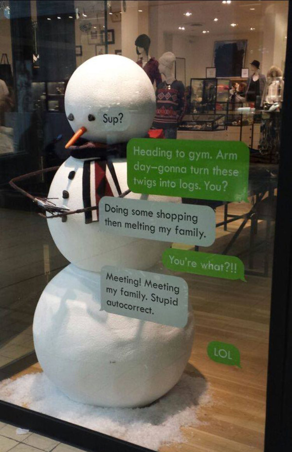 snowman-autocorrect