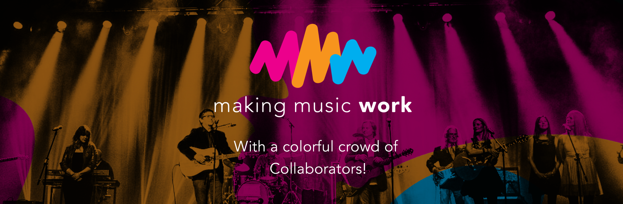 Making Music Work with a Colourful Crowd of Collaborators!
