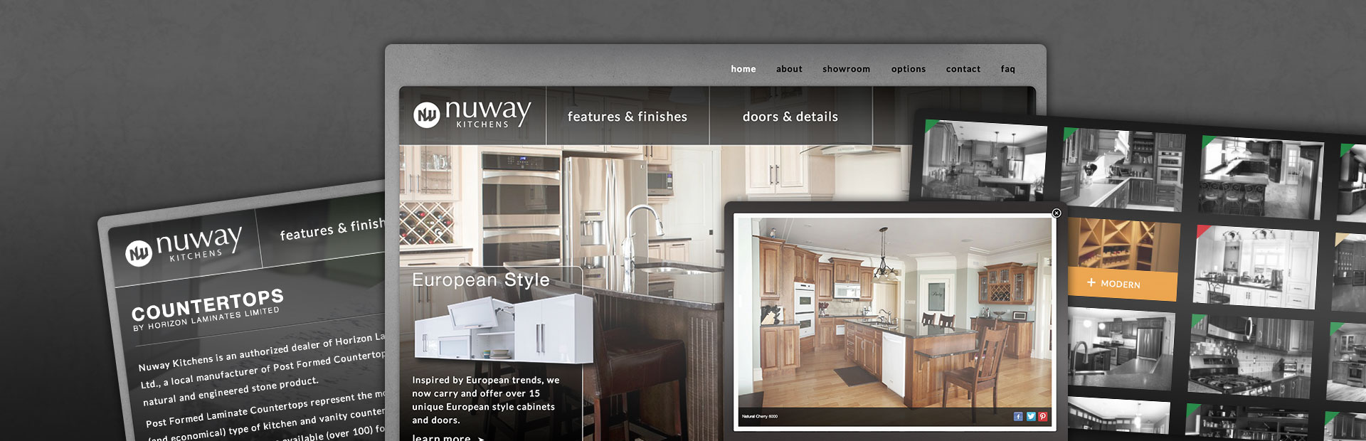 Nu Look, Nu Website, Nuway Kitchens