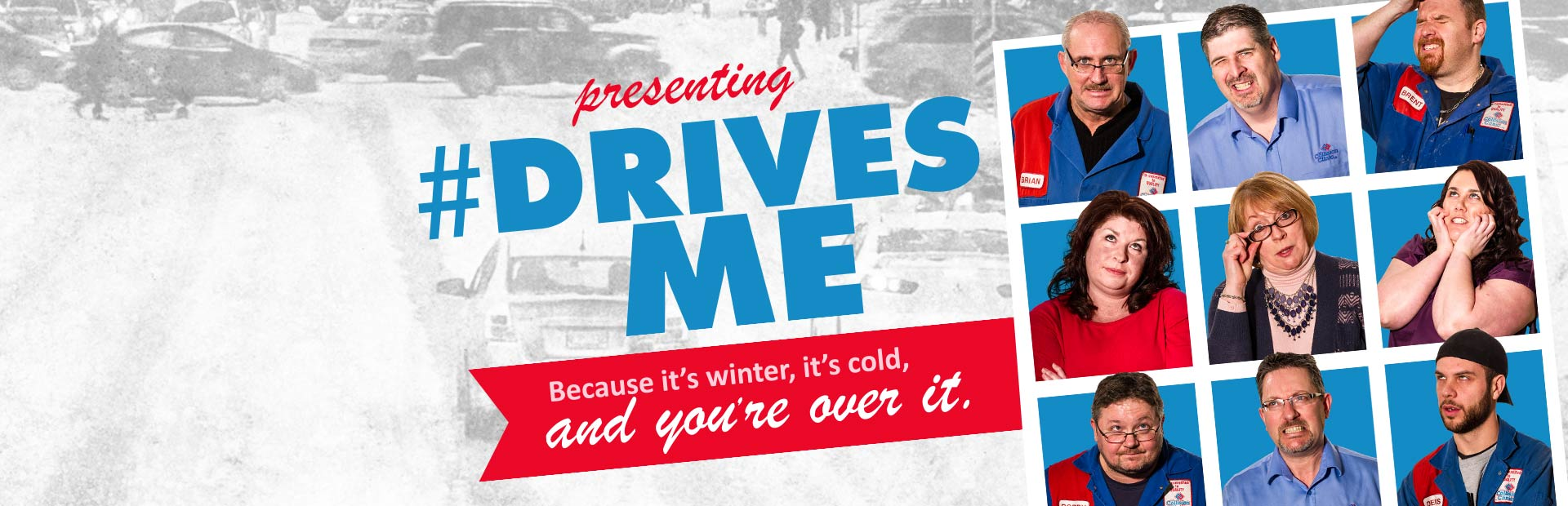 Collision Clinic's #DrivesMe Social Campaign