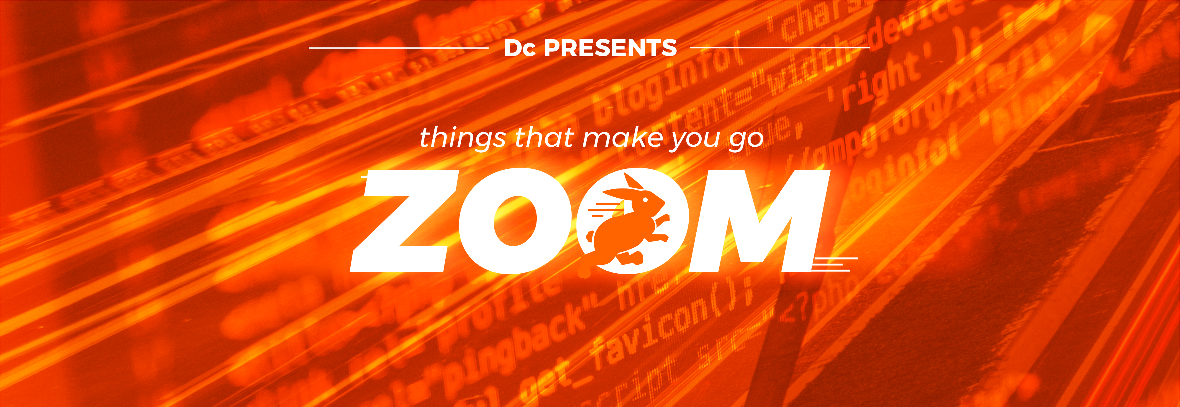 Dc Presents:  Things That Make You Go ZOOM!