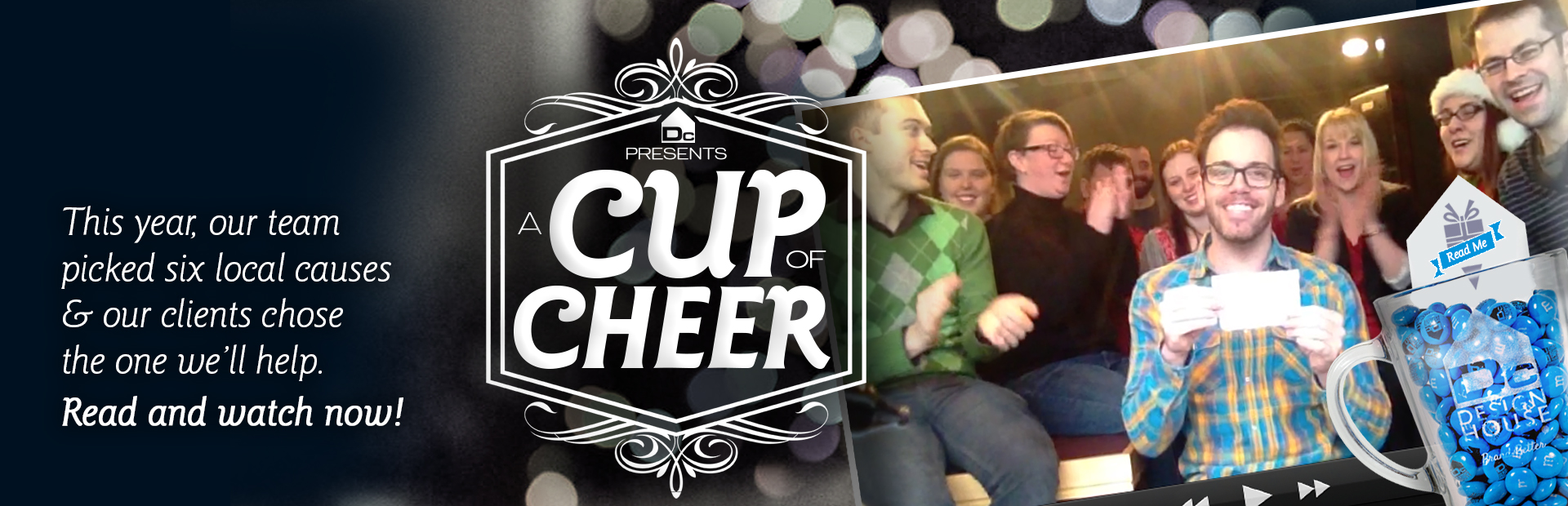 Cup of Cheer: The Big Reveal