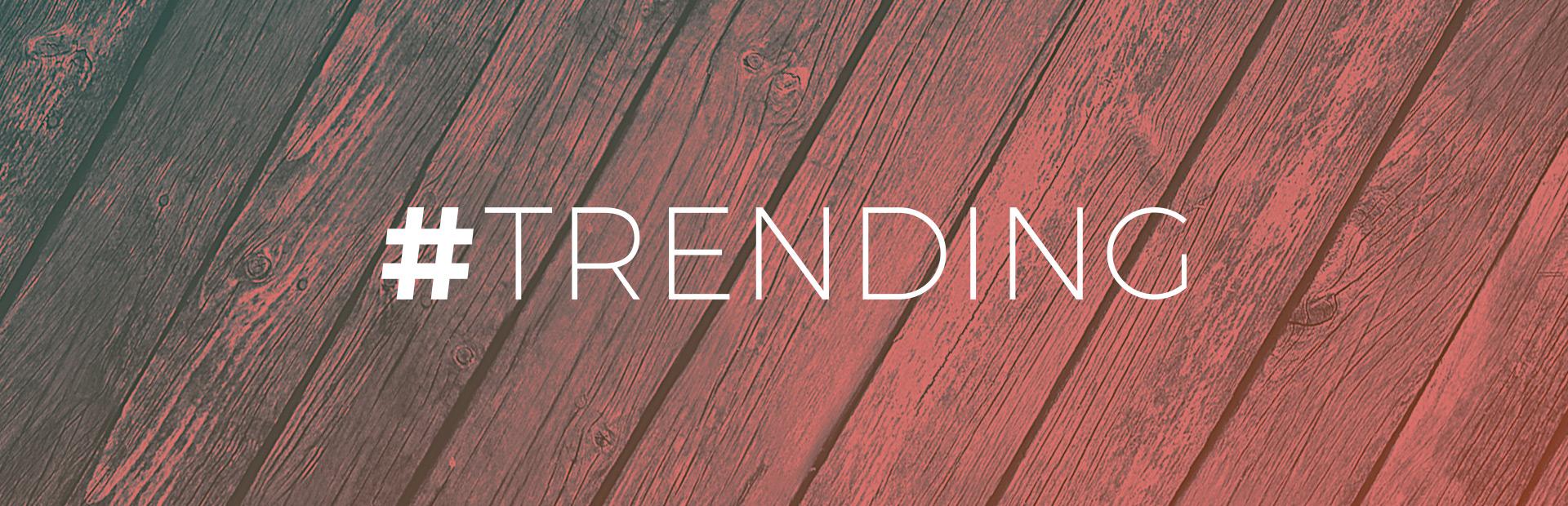 #TRENDING – Fall Edition 2015