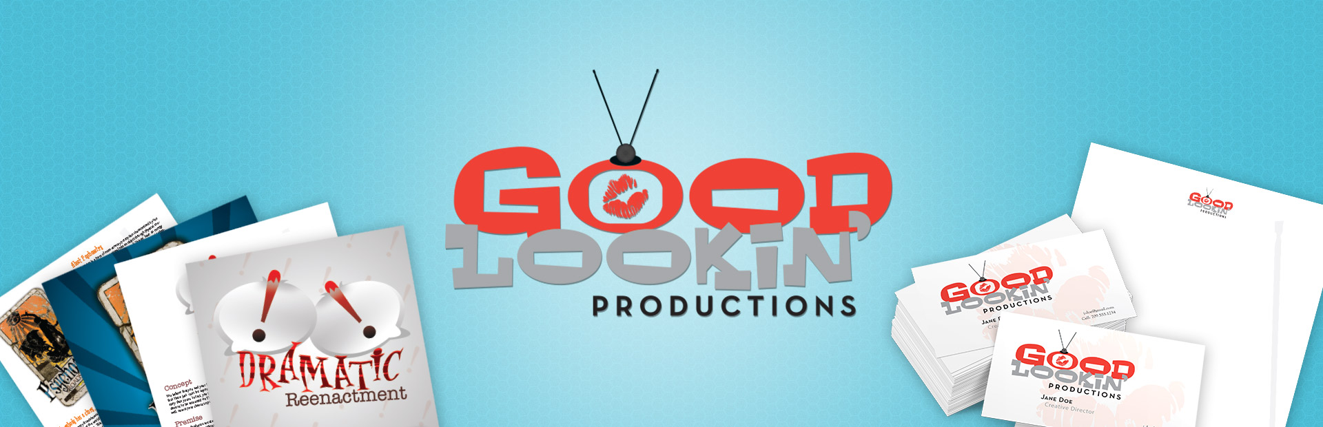 Branding for Good Lookin' Productions