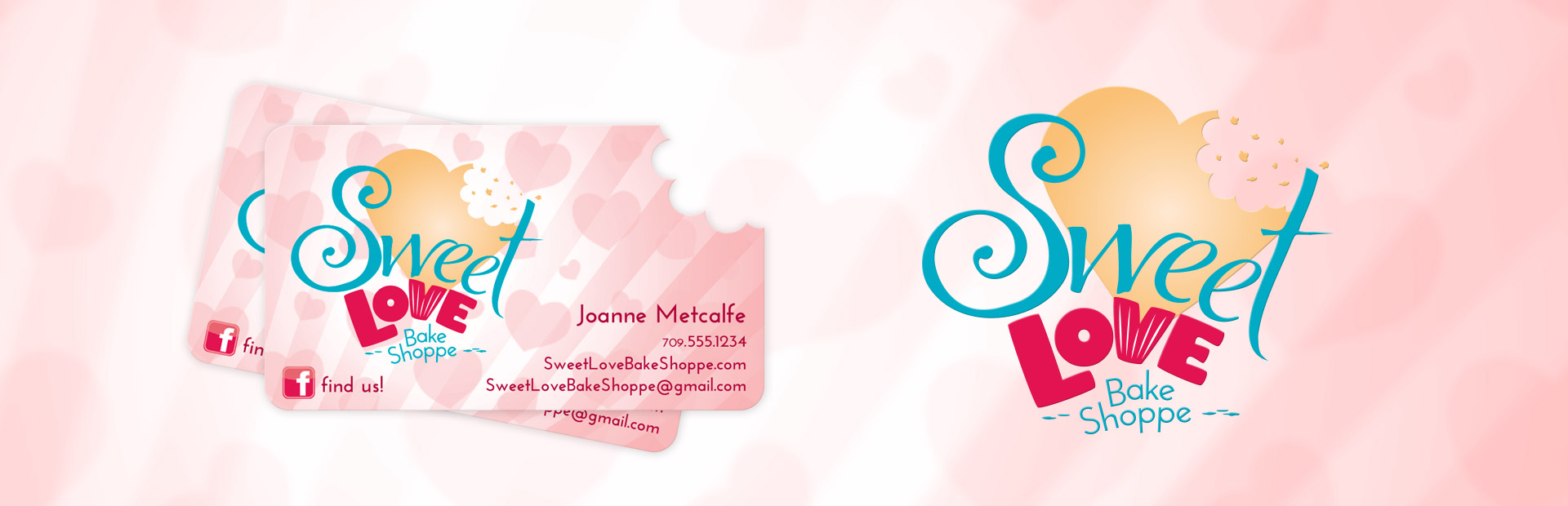 Branding for Sweet Love Bake Shoppe